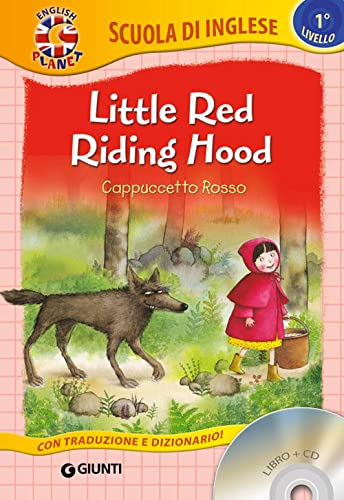 9788809829497: Little Red Riding Hood-Cappuccetto Rosso. Con CD Audio [Lingua inglese]