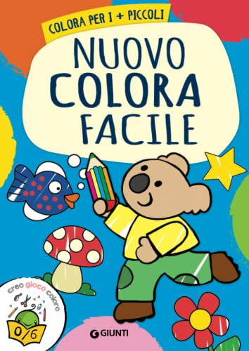 9788809838512: Nuovo colora facile