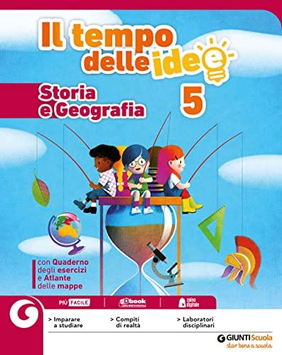 9788809864665: Il tempo delle idee. Area antropologica. Per la 5ª classe elementare. Con e-book. Con espansione online: 2
