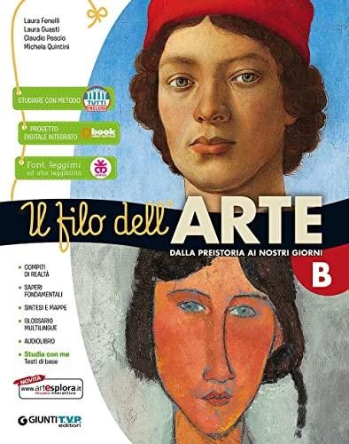 9788809991262: Filo dell'arte. Per la Scuola media. Con e-book. Con espansione online: B-C
