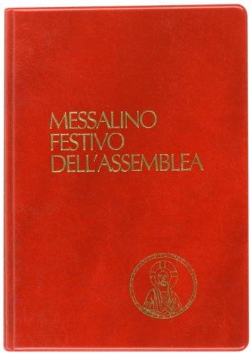 9788810204498: Messalino festivo dell'assemblea. Ediz. tascabile