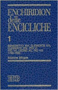 Enchiridion delle encicliche (Collana Strumenti) (8 Volume Set) (Latin Edition): Catholic Church