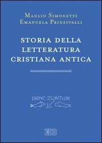 9788810453032: Storia della letteratura cristiana antica