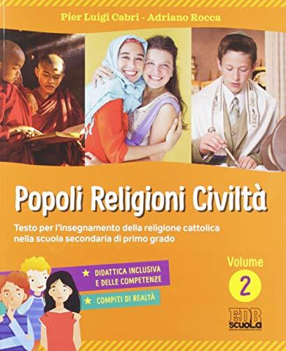 9788810614631: Popoli, religioni, civiltà. Per la Scuola media. Con ebook. Con espansione online: 2