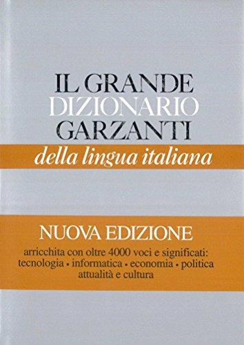 Dizionario lingua italiana