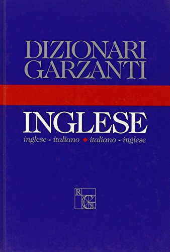 9788811102120: Nuovo Dizionario Inglese Garza (Dizionari Garzanti) (Italian and English Edition)