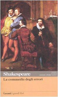 9788811365631: La commedia degli errori. Testo inglese a fronte