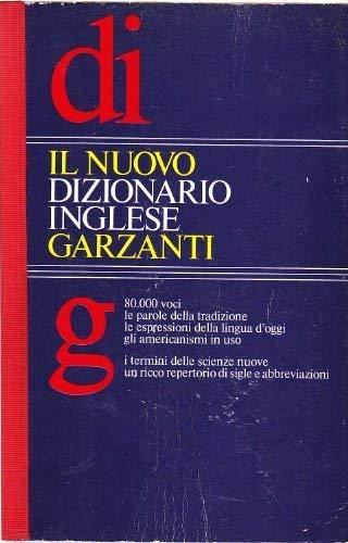 9788811504337: Garzanti: Il Nuovo Dizionario Inglese (Italian Edition)