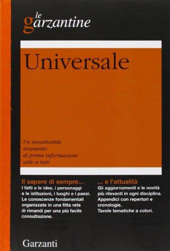 9788811505303: Enciclopedia Universale (Le Garzantine)
