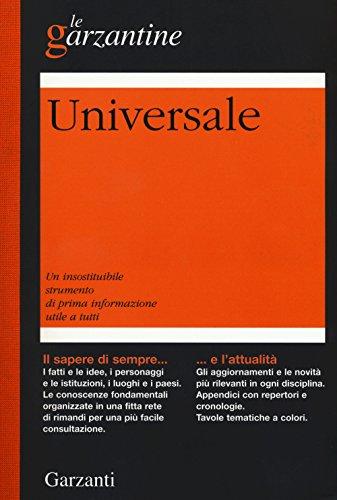 9788811505426: Enciclopedia Universale (Le Garzantine)