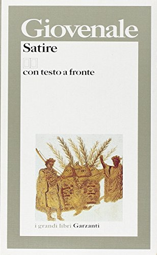 9788811585954: Satire. Testo latino a fronte
