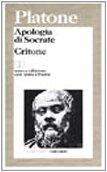9788811588535: Apologia di Socrate-Critone. Testo greco a fronte (I grandi libri)