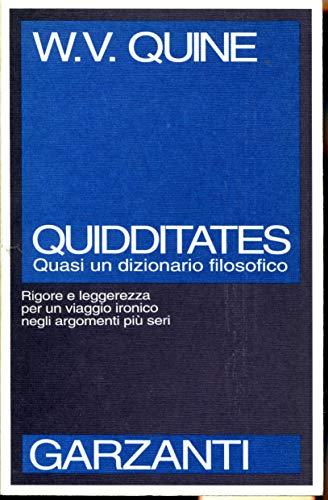 9788811598916: Quidditates