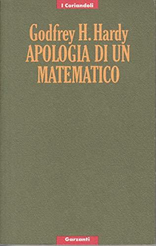 9788811652250: Apologia di un matematico (I coriandoli)