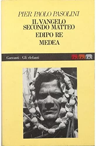 9788811667841: Il vangelo secondo Matteo ;: Edipo re ; Medea (Elefanti)