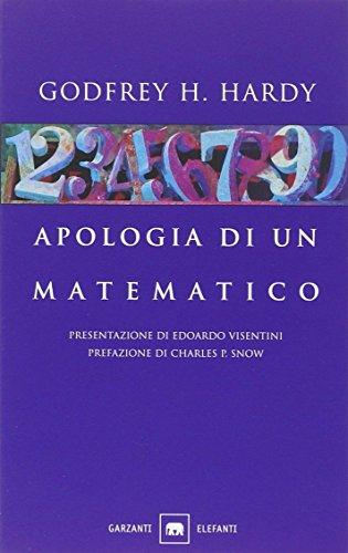 9788811685272: Apologia di un matematico