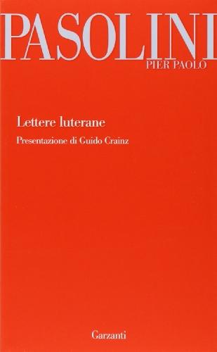 9788811697084: Lettere luterane (Garzanti Novecento)
