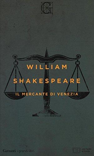 9788811811374: Il mercante di Venezia. Testo inglese a fronte. Ediz. illustrata
