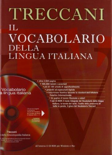 9788812000265: Il vocabolario della lingua italiana Treccani. Con CD-ROM
