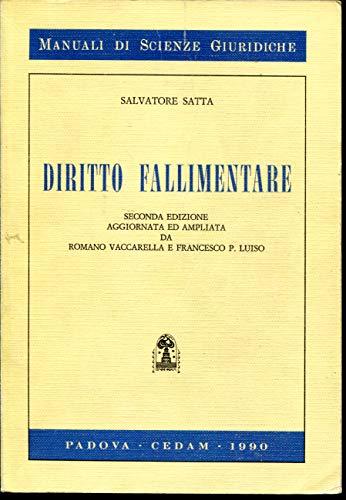 9788813167080: Diritto fallimentare (Manuali di scienze giuridiche) (Italian Edition)