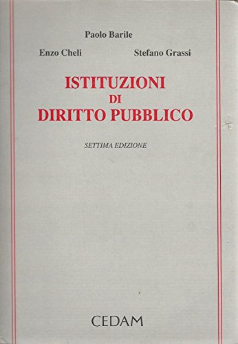 9788813194086: Istituzioni di diritto pubblico (Italian Edition)
