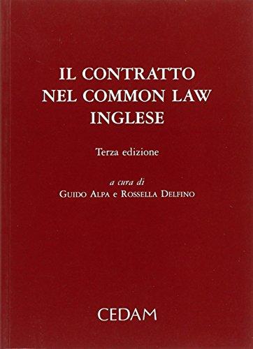 9788813259679: Il contratto nel Common Law inglese