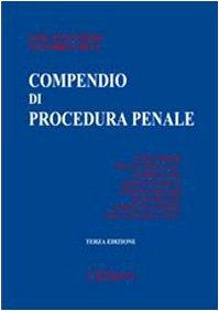 9788813263010: Compendio di procedura penale