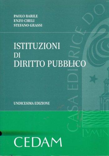 9788813279349: Istituzioni di diritto pubblico