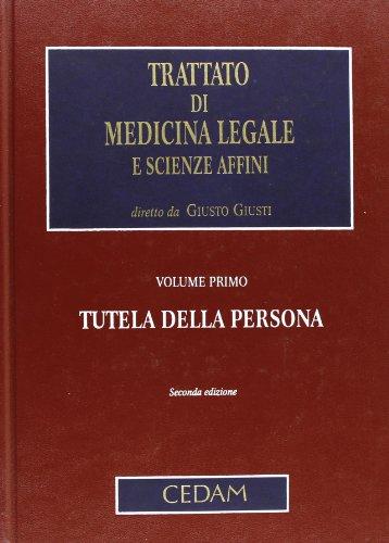9788813292379: Trattato di medicina legale e scienze affini: 1
