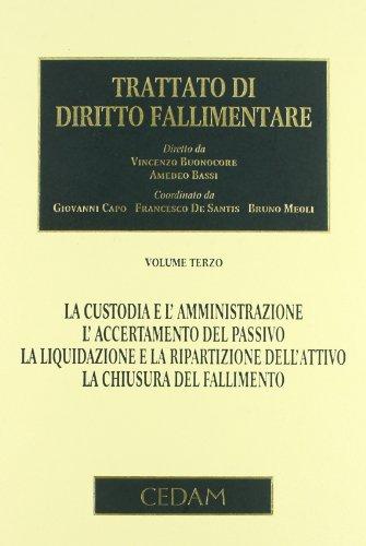 Trattato di diritto fallimentare: 3