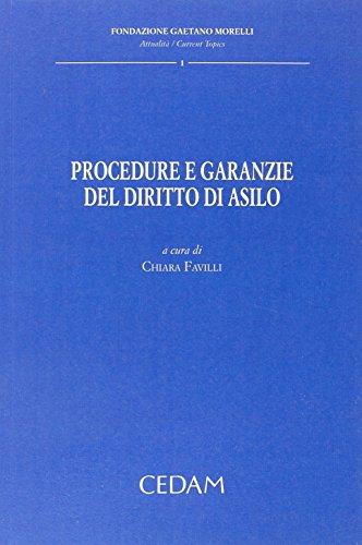 9788813307622: Procedure e garanzie del diritto d'asilo