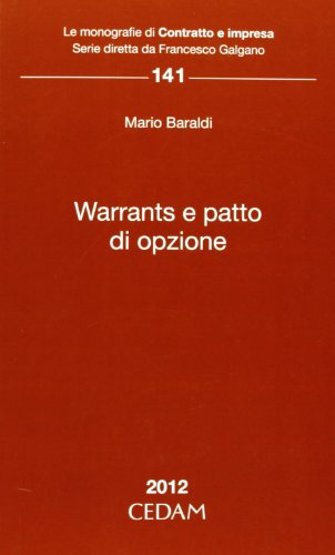 9788813314477: Warrants e patto d'opzione