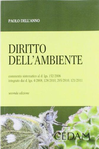 9788813318703: Diritto dell'ambiente