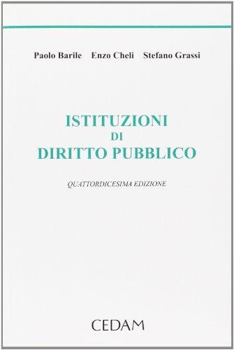 9788813327729: Istituzioni di diritto pubblico