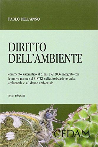 9788813340155: Diritto dell'ambiente