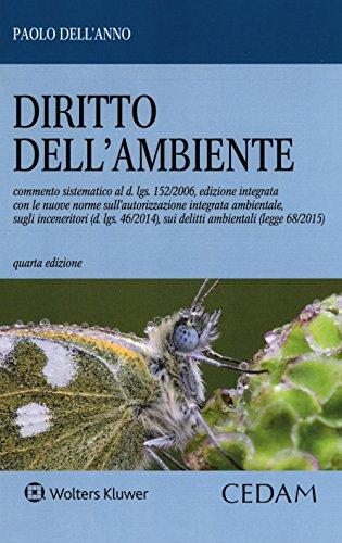 9788813359300: Diritto dell'ambiente
