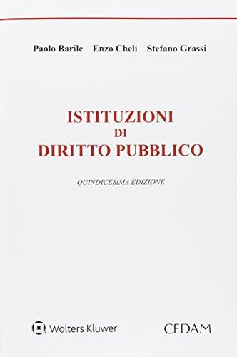 9788813360665: Istituzioni di diritto pubblico