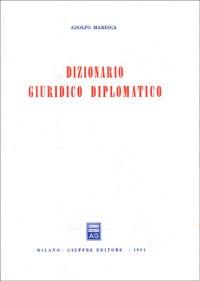 9788814025938: Dizionario giuridico diplomatico (Italian Edition)