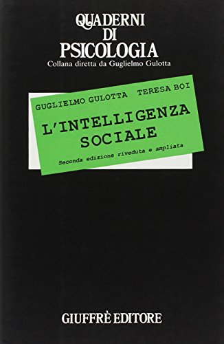 9788814063558: L'intelligenza sociale