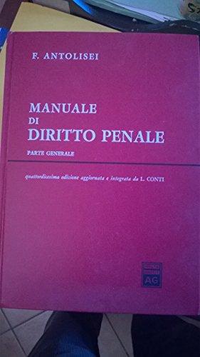 9788814065071: Manuale di diritto penale. Parte generale