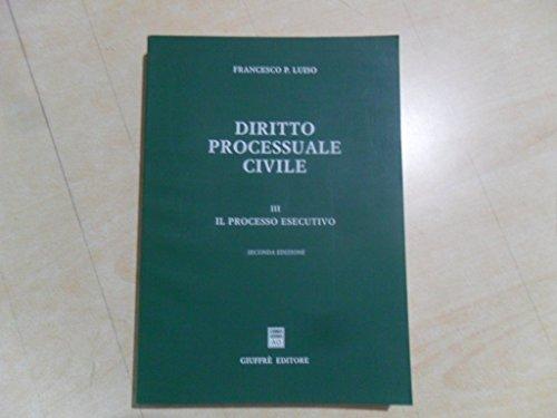 9788814075308: Diritto processuale civile: 3