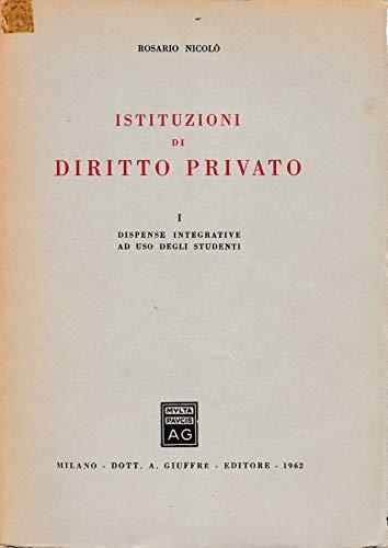 Istituzioni di diritto privato Autori Vari