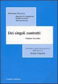 9788814090790: Dei singoli contratti: 2 (Manuali delle lezioni di G. Capozzi)