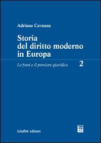 9788814118609: Storia del diritto moderno in Europa: 2