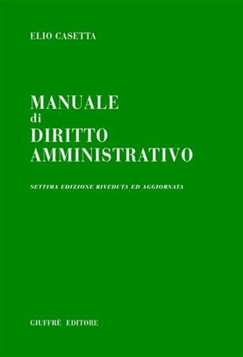 9788814121449: Manuale di diritto amministrativo