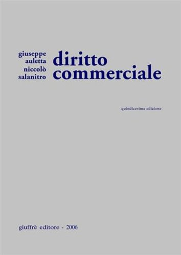 Diritto commerciale: Auletta - Salanitro