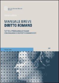 9788814131288: Diritto romano