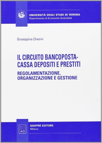 9788814132292: Il circuito Bancoposta