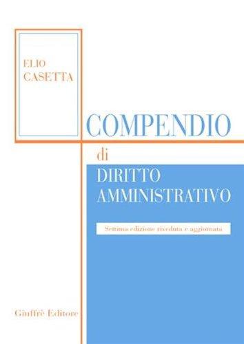 9788814137372: Compendio di diritto amministrativo