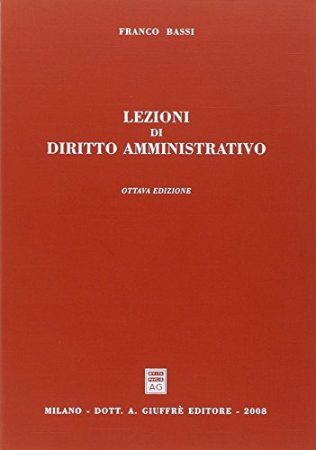 9788814139130: Lezioni di diritto amministrativo